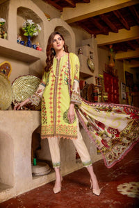 Luxury Emb Lawn Vol 1 3Piece Ar#207