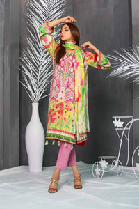 Cotail 3Pc Embroidered Suit