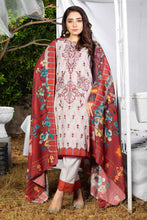 Load image into Gallery viewer, Karandi Embroidered 3PC Ar-K2-01