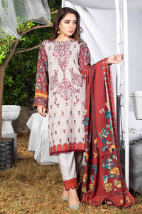Karandi Embroidered 3PC Ar-K2-01