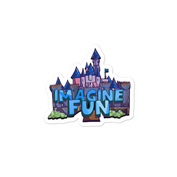 ImagineFun Logo Sticker
