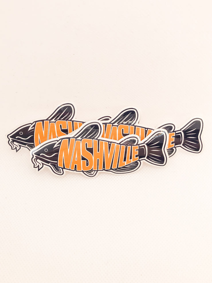Catfish Sticker