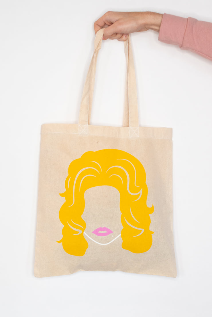 Queen Dolly Tote Bag