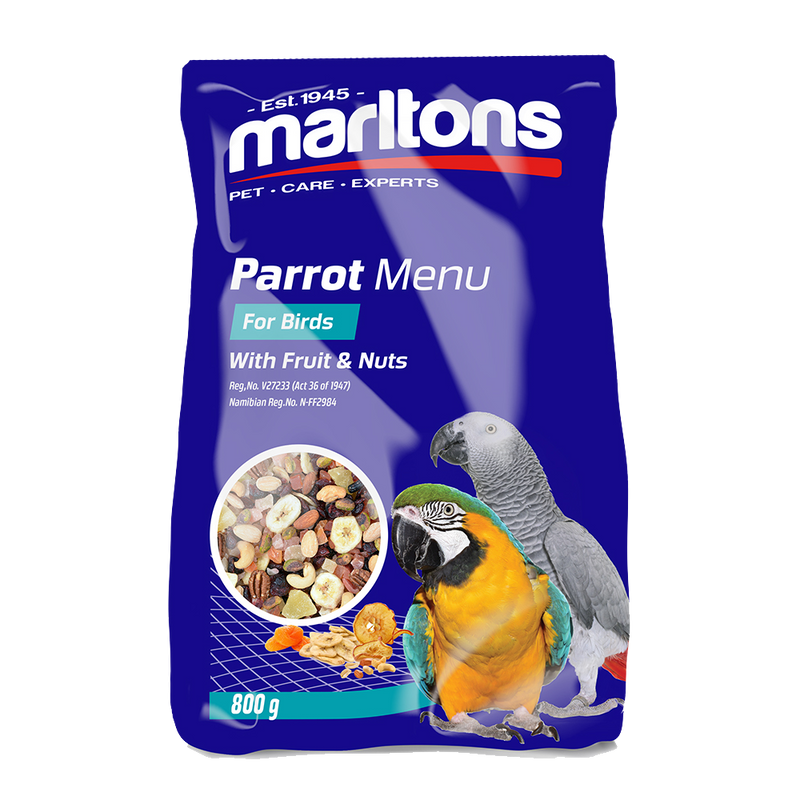 Parrot Food Fruit And Nut