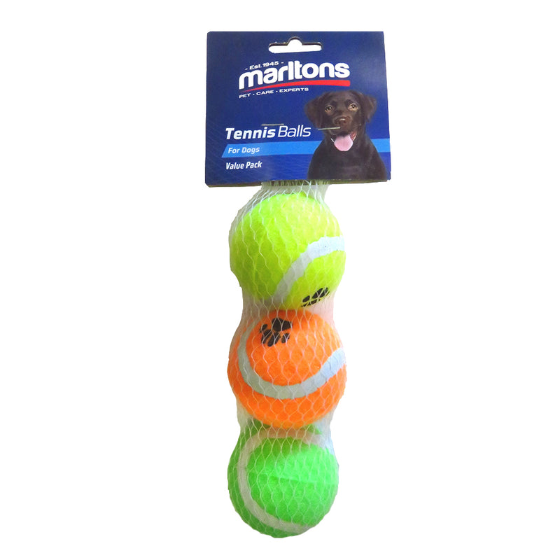 Tennis Ball Three Pack