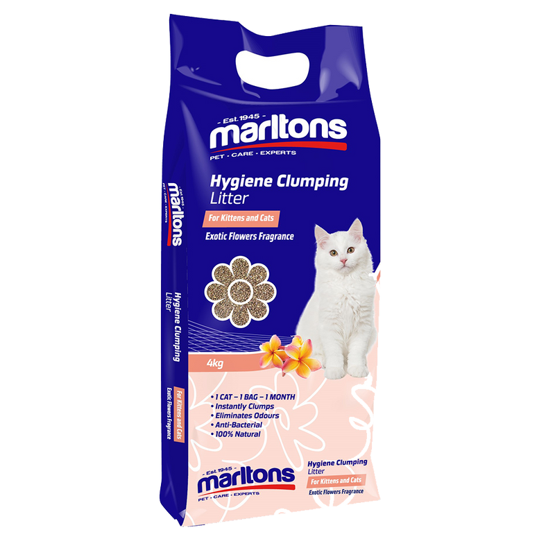Hygiene Clumping Litter Exotic Flower Fragrance