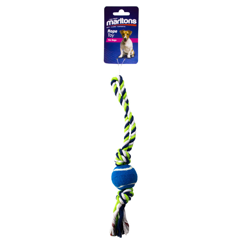 Dog Rope with Mini Tennis Ball