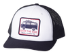 Enjoy the Ride White/Navy Hat