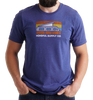 Sunset Bus Unisex Tee