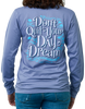 Day Dream Unisex Long Sleeve Pocket