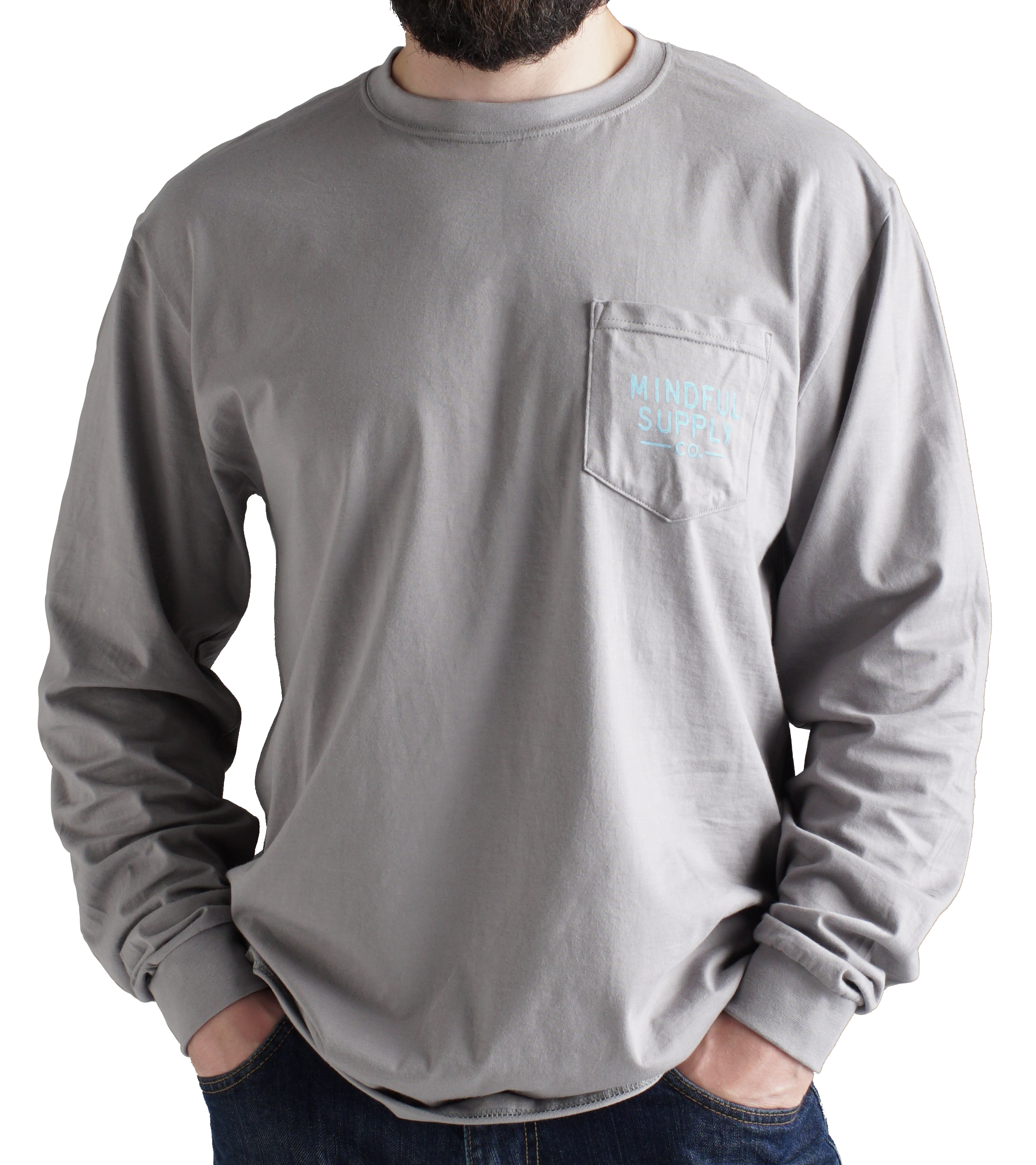 Free As A Bird Unisex Longsleeve Pocket