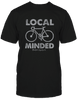 Local Minded Soft Black Men's T-shirt Made in the Carolinas