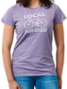 Local Minded Bike Women's Tee