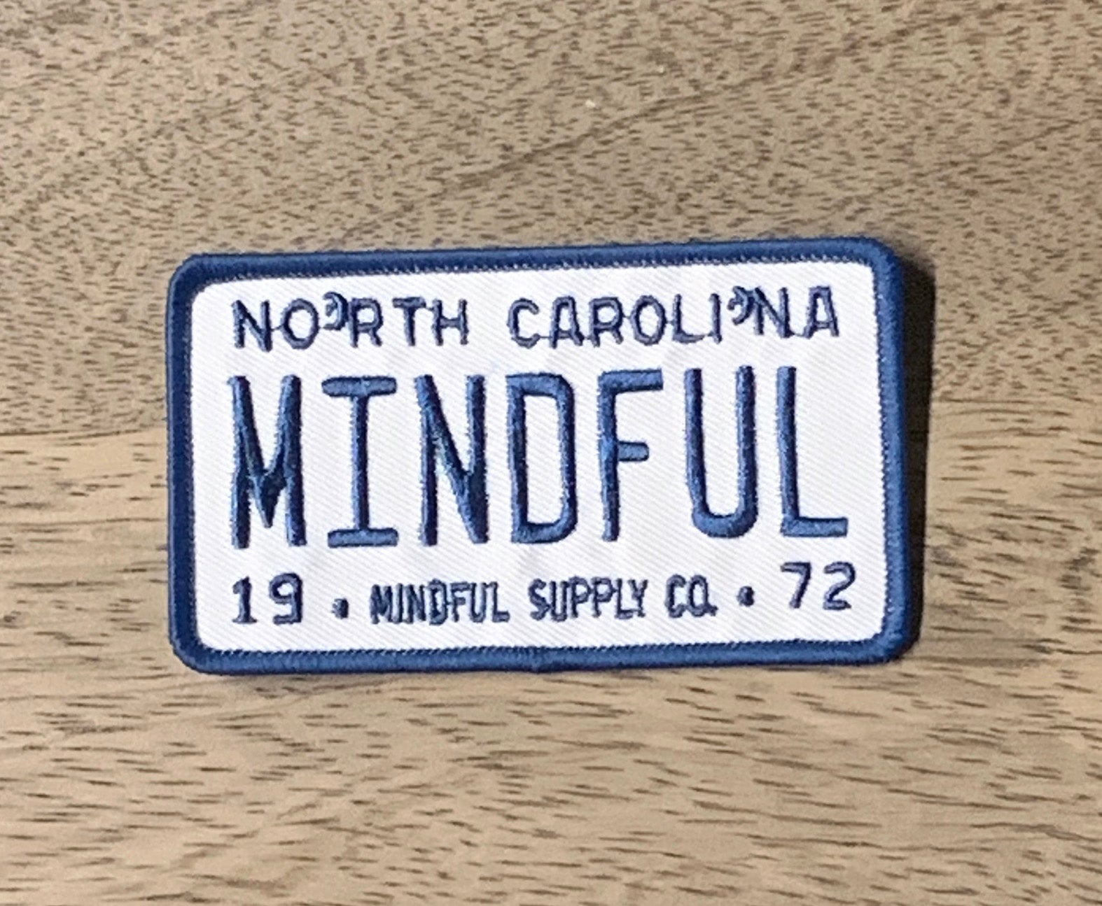 Mindful Plate Patch