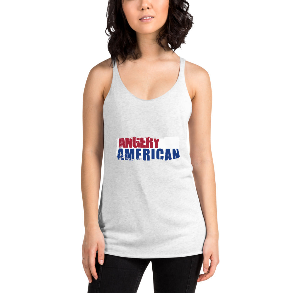 Painted Women's Racerback Tank