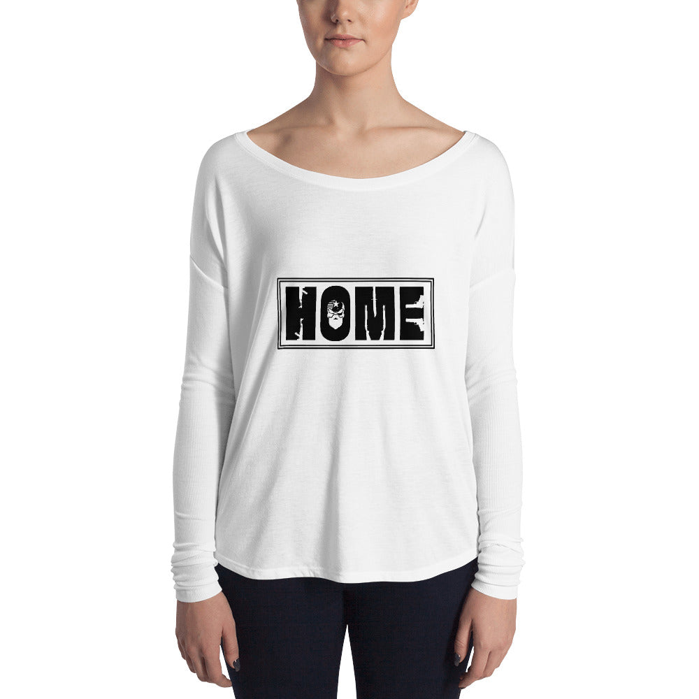 Home Ladies' Long Sleeve Tee
