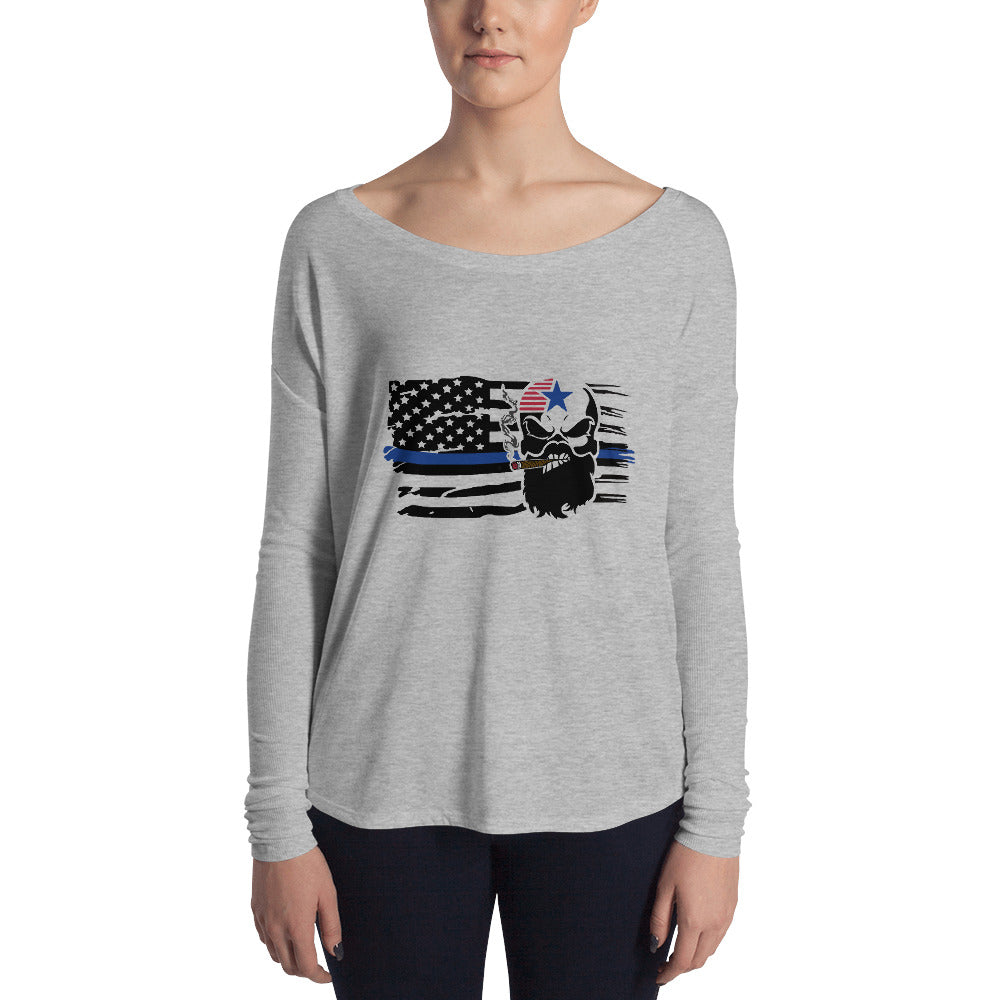 Blue Line Ladies' Long Sleeve Tee