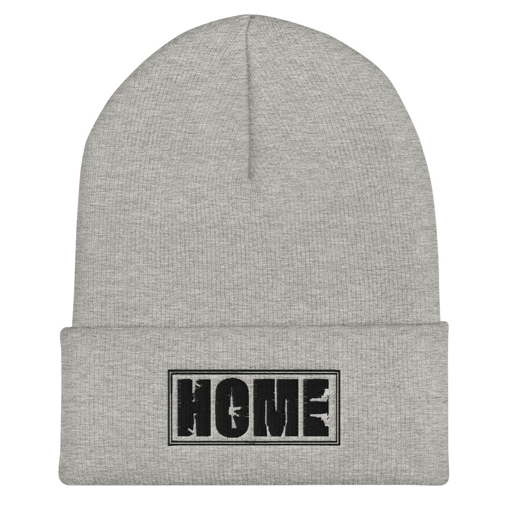 Protected Home Cuffed Beanie
