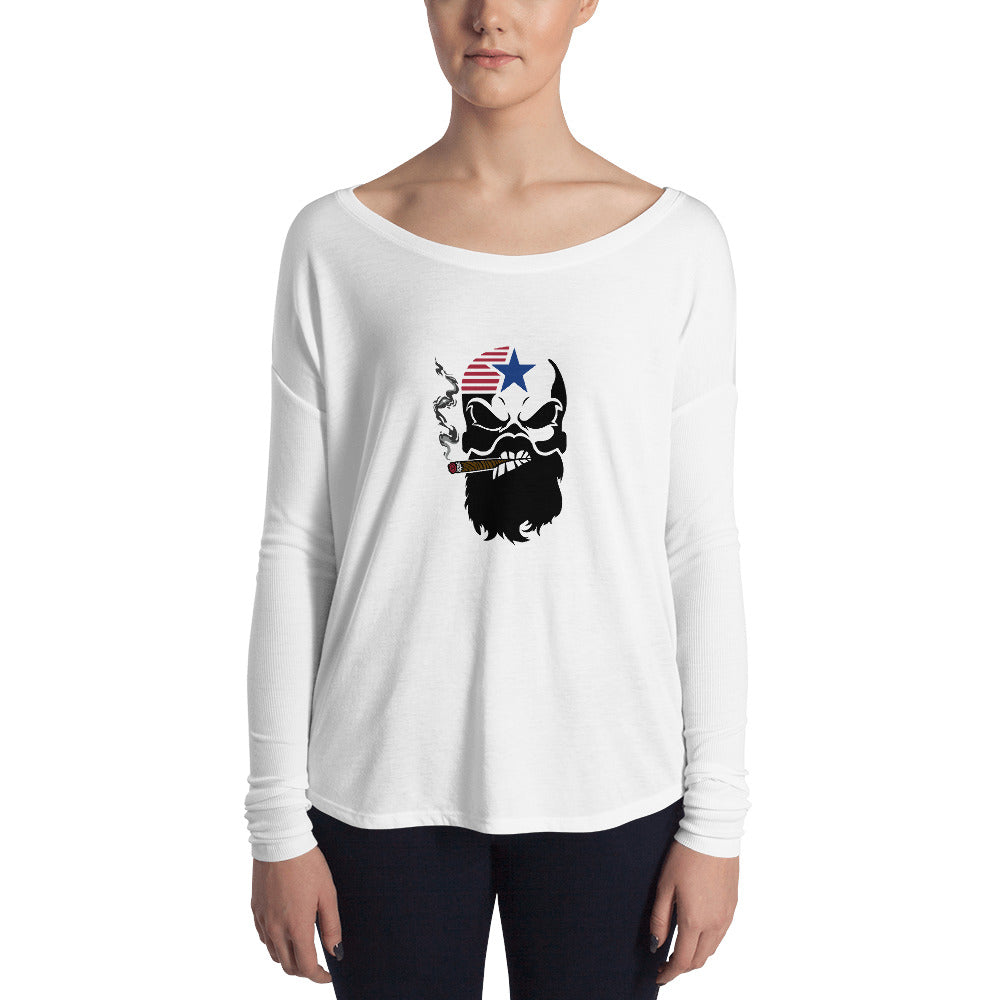 Cigar Ladies' Long Sleeve Tee