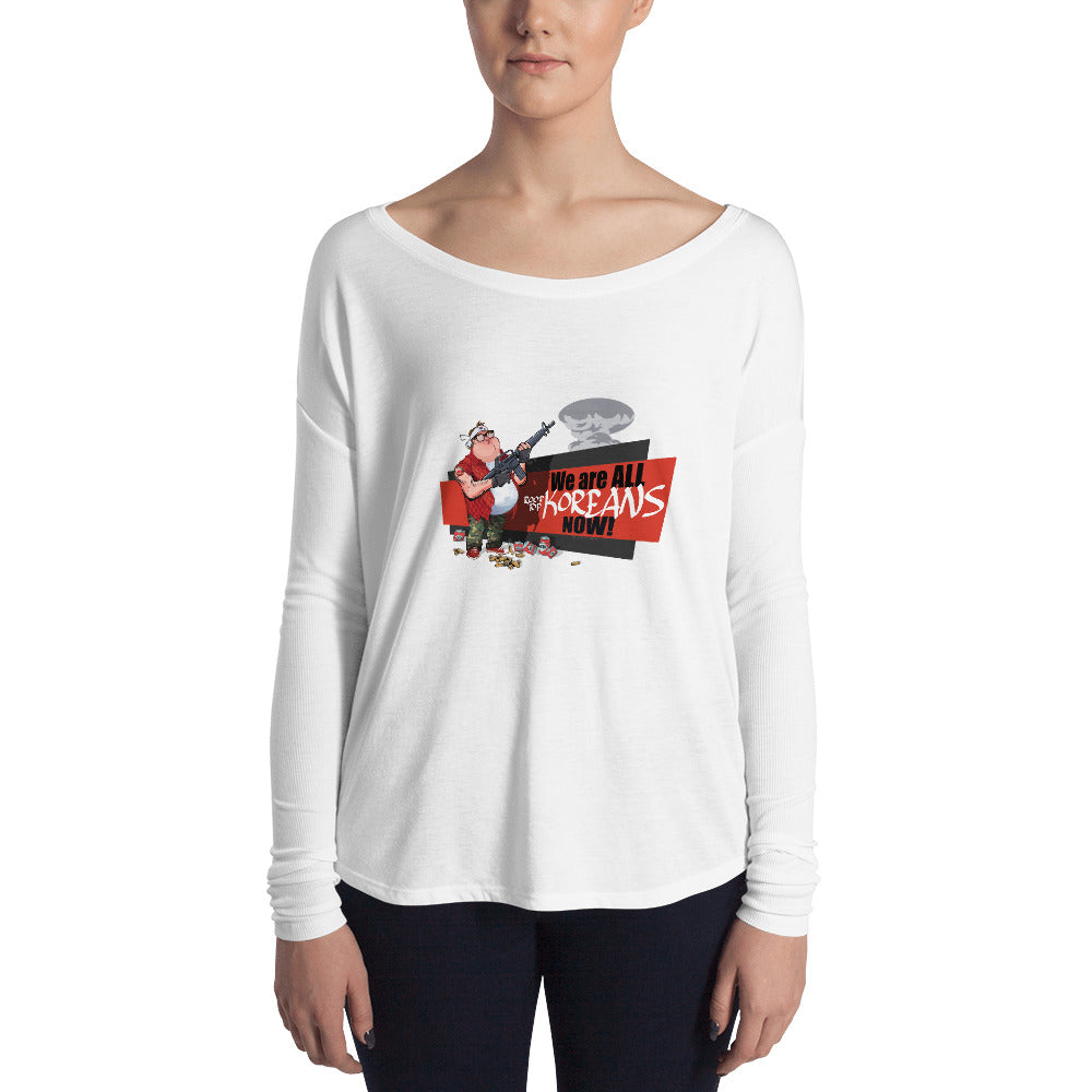 WAKN Ladies' Long Sleeve Tee