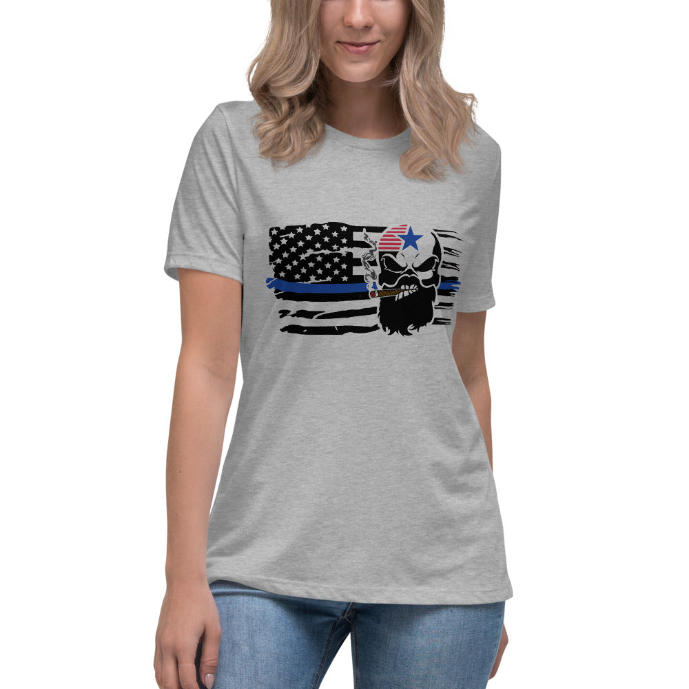 Blue Line Women's Relaxed T-Shirt