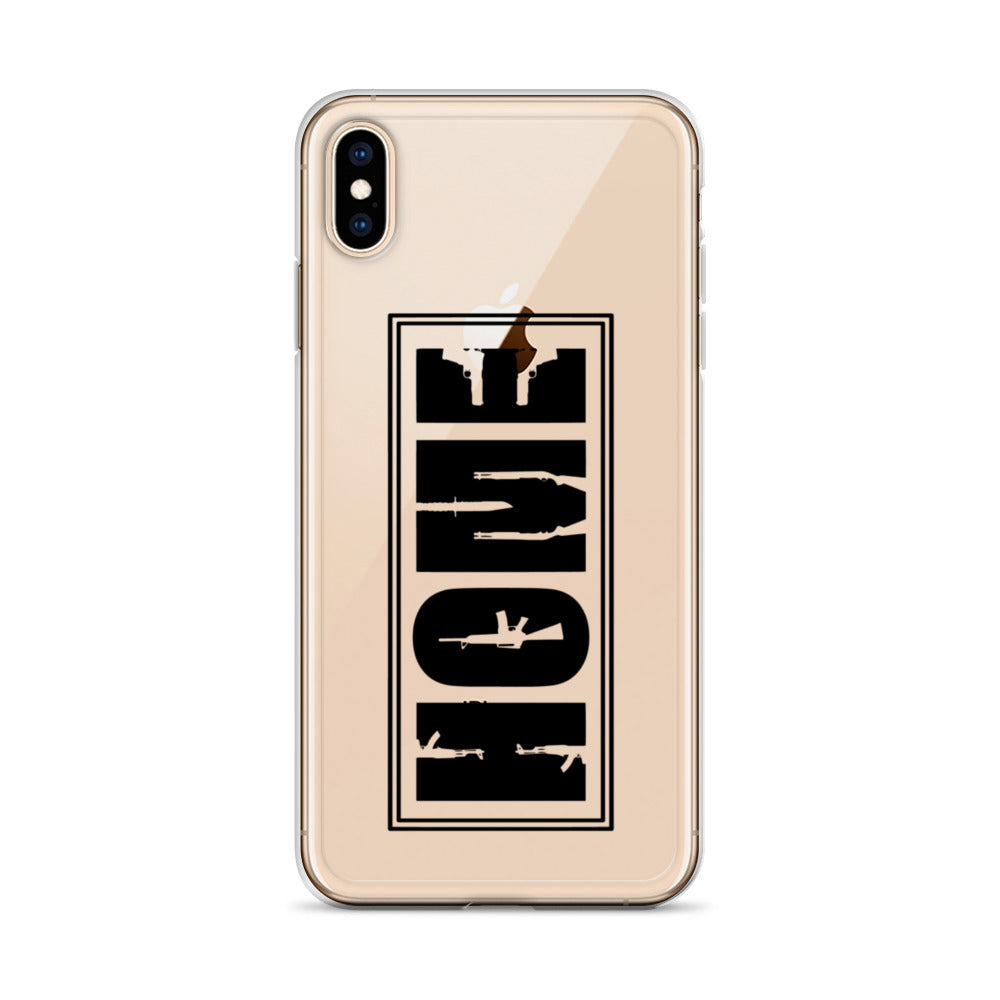 Protected Home iPhone Case