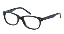 Lazer 2128 kids black glass frames