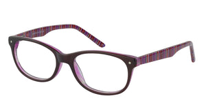 Lazer 2128 kids plum glass frames