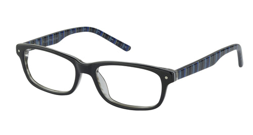 Lazer 2130 kids black glass frames