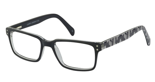 Lazer 2132 kids black camo glass frames