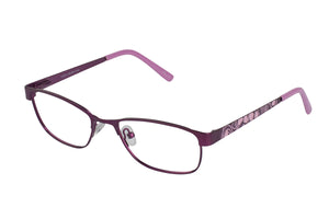 Lazer 2140 kids purple pink glass frames
