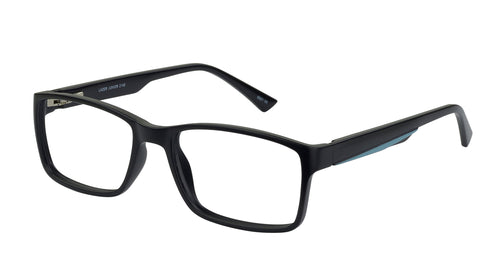 Lazer 2148 kids black glass frames