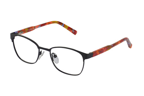 Lazer 2188 kids black glass frames