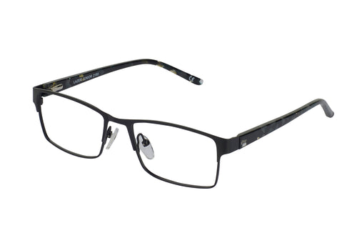 Lazer 2190 kids black glass frames