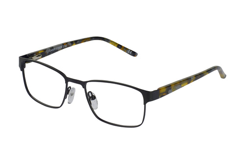 Lazer 2192 kids black glass frames