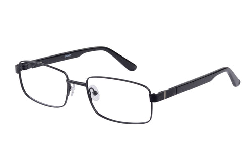 Eyecraft Aaron men's black glass frames