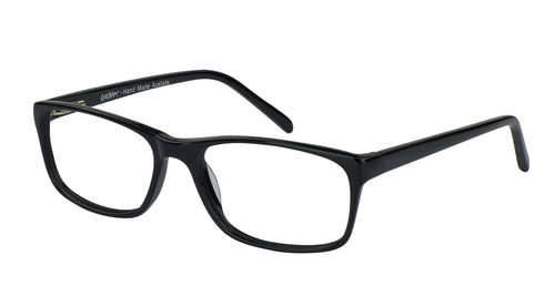 Eyecraft Abraham men's black glass frames