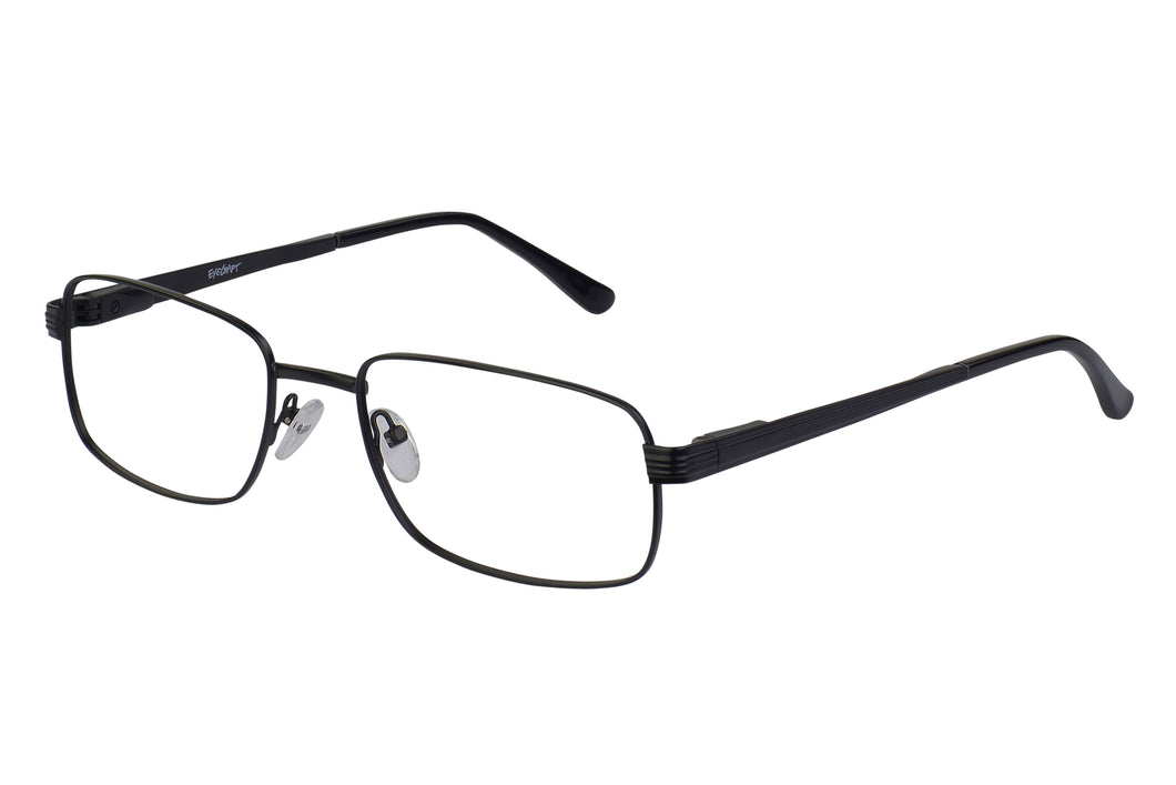 Eyecraft Aden men's black glass frames