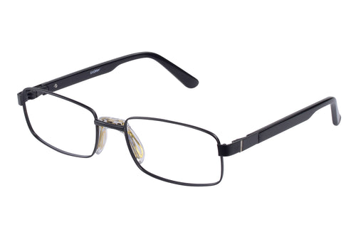 Eyecraft Aldrin men's black glass frames