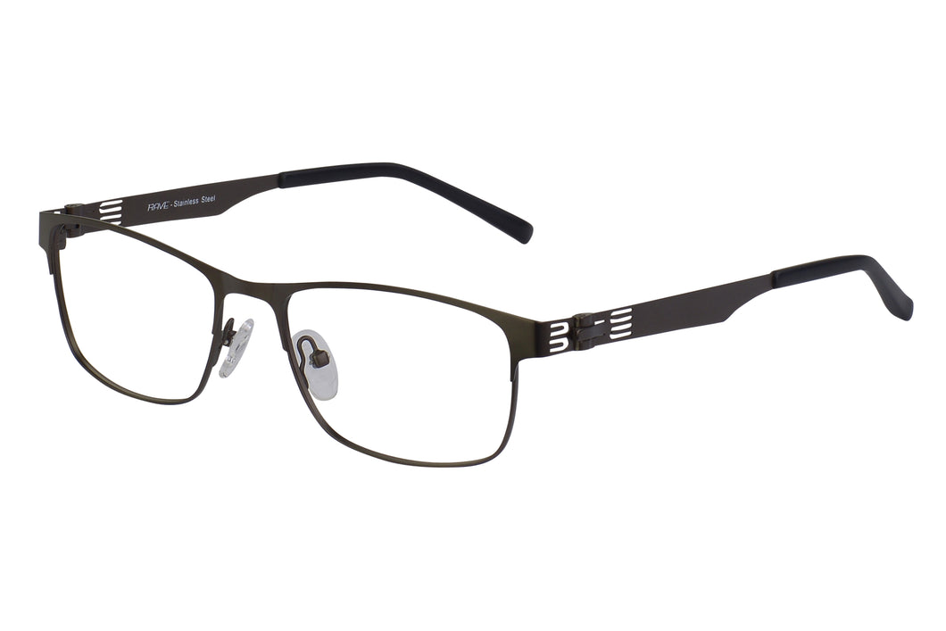 Rave Andromeda men's gunmetal glass frames