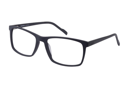 Eyecraft Apollo men's black glass frames