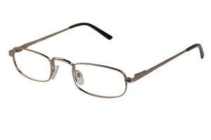 Eyecraft Aussie unisex brown glass frames