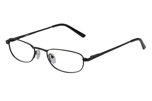 Eyecraft Banjo unisex black glass frames