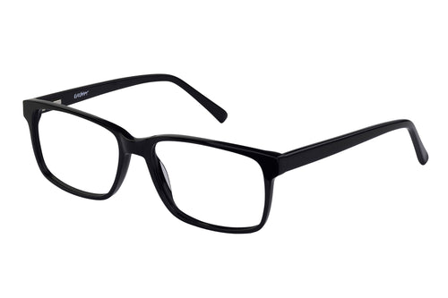 Eyecraft Barron men's black glass frames
