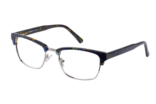 Eyecraft Beau men's black glass frames