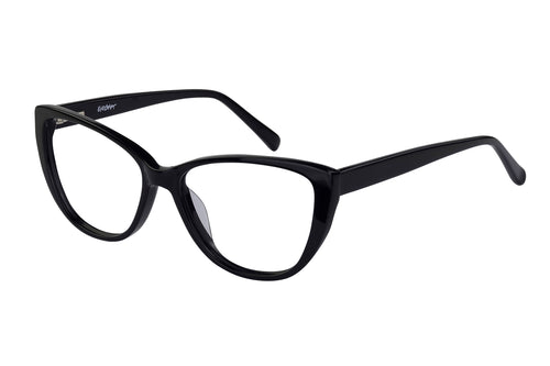 Eyecraft Bethany womens black glass frames
