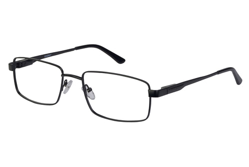 Eyecraft Brendan men's black glass frames