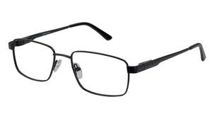 Eyecraft Brody men's black glass frames