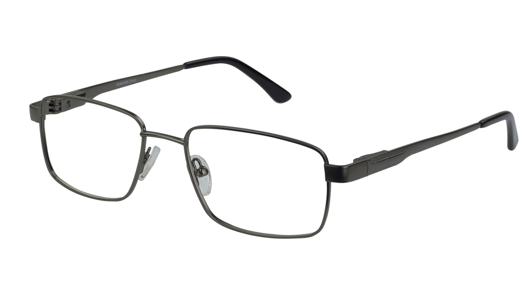 Eyecraft Brody men's gunmetal glass frames
