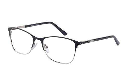 Eyecraft Bronte womens black glass frames
